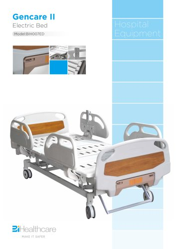 Brochure_GencareII electric bed(BIH007ED)_BiHealthcare