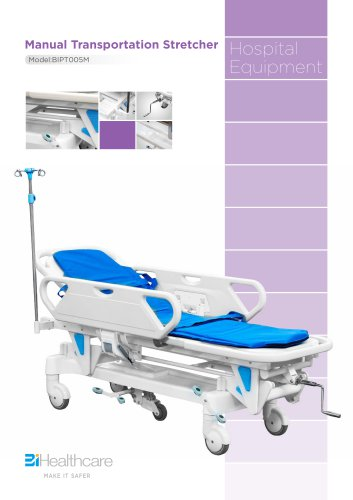 Brochure_Manual Transportation Stretcher(BIPT005M)_BiHealthcare