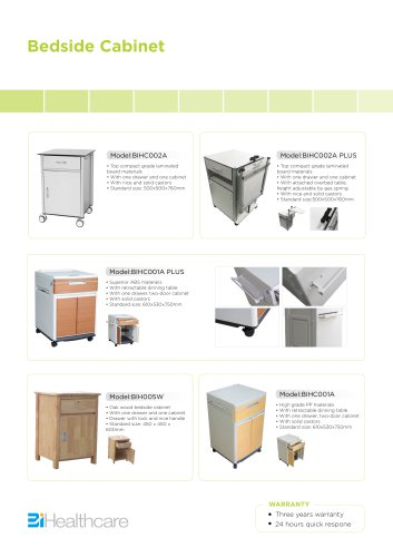 Catalogue_Bedside Cabinet_BI Healthcare