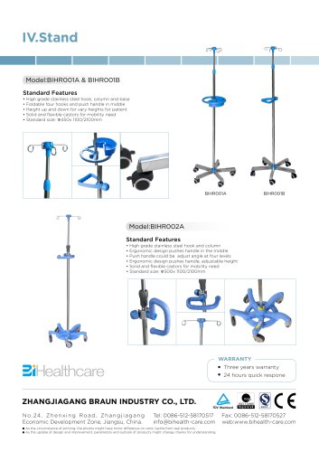 Catalogue_IV Stand_BI Healthcare