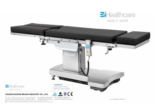 Catalogue_Operating table_BiHealthcare