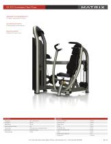 G3-S13 Converging Chest Press - 1