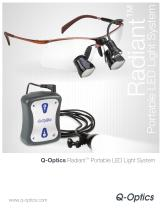 Q-Optics Radiant LED Light System with RADHUM2 - 1