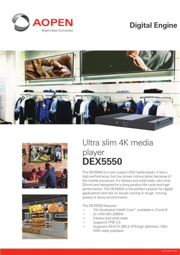 Specsheet Box PC DEX5550