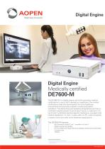 Specsheet Medical Box PC DE7600-M