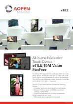 Specsheet Panel PC eTILE 15M-FB