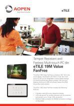 Specsheet Panel PC eTILE 19M-FB