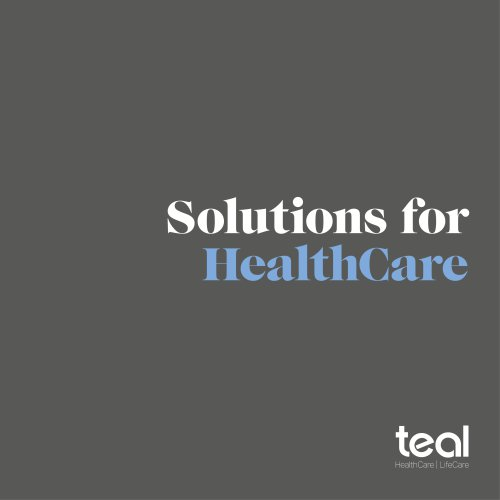 Solutions for HealthCare 2018