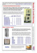 Fluid Warming Blanket Combination Cabinets - 1