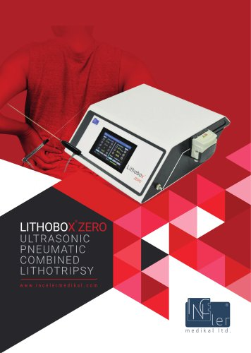 Lithobox ® Zero Ultrasonic Pneumatic Lithotripter