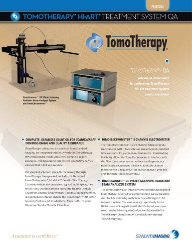 TomoTherapy® Hi-Art System® QA
