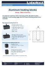 Aluminum Heating Blocks