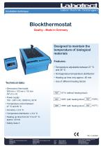 Blockthermostat