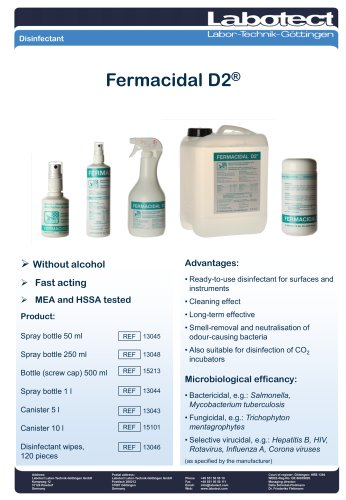 Fermacidal D2®