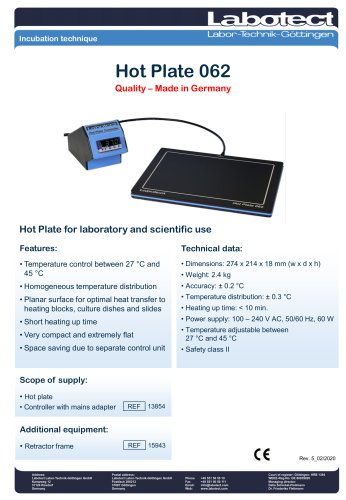 Hot Plate 062