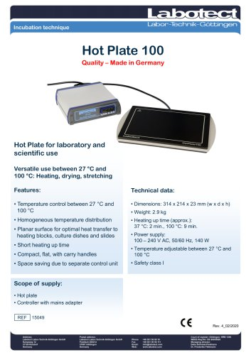 Hot Plate 100