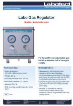 Labo Gas Regulator