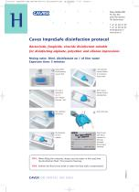 Cavex ImpreSafe disinfection protocol - 1
