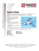 CamLoc Clamp Sell Sheet