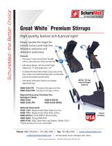 Great White Premium Stirrups Sell Sheet