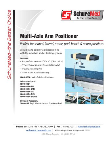 Multi-Axis Arm Positioner Sell Sheet