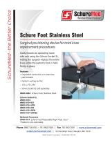 Schure Foot Stainless Steel Sell Sheet