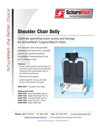 Shoulder Chair Dolly Sell Sheet