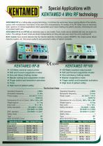 Special Applications with KENTAMED 4 MHz RF technology