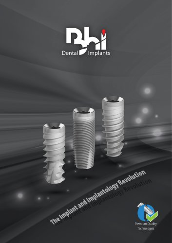 Bhi Implants Catalog