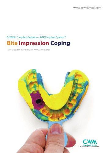 Bite Impression Coping Catalog