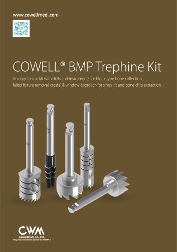 COWELL® BMP Trephine Kit