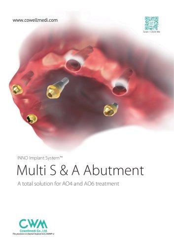 Multi S & A Abutment