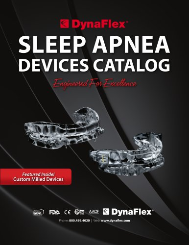 SLEEP APNEA DEVICES CATALOG