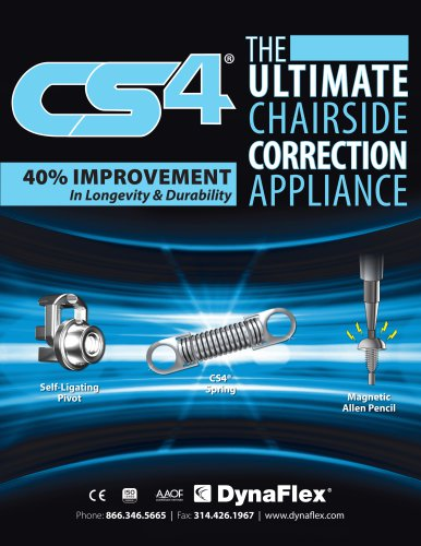 The Ultimate Chairside Correction Appliance