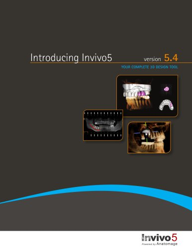 Invivo5.4 Upgrade