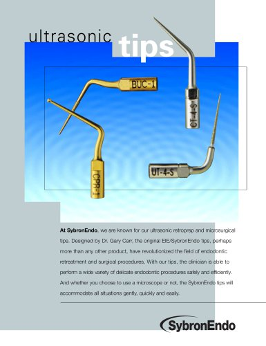 ultrasonic tips