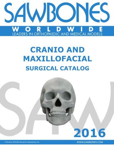 CRANIO AND MAXILLOFACIAL SURGICAL CATALOG - Sawbones/Pacific