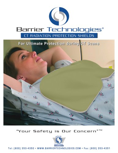 CT Radiation protection shields