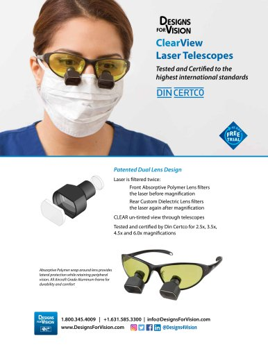 ClearView Laser Telescopes