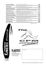 Kinetec Prima Advance with Washable Pads