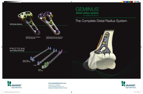 GEMINUS ® Sales Sheet