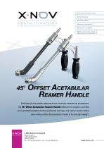 45° Offset Acetabular reamer Handle - 1