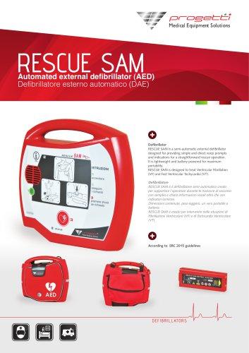 AED DEFIBRILLATOR RESCUE SAM