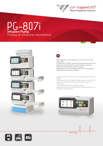 PG 807i INFUSION PUMP