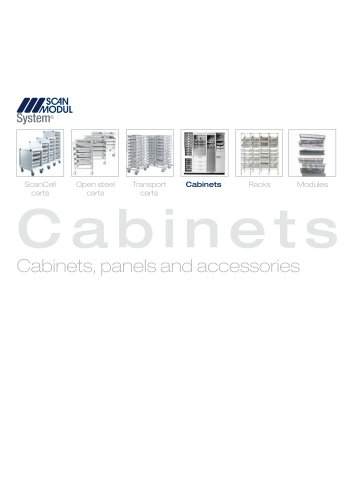 Cabinets - Cabinets, panels and accessories