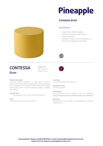 Contessa drum