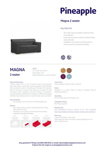 Magna 2 seater