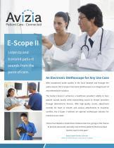 Cardionics E-Scope II - Electronic Stethoscope