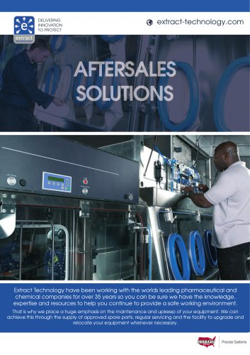 Aftersales Spare Parts and Service Brochure