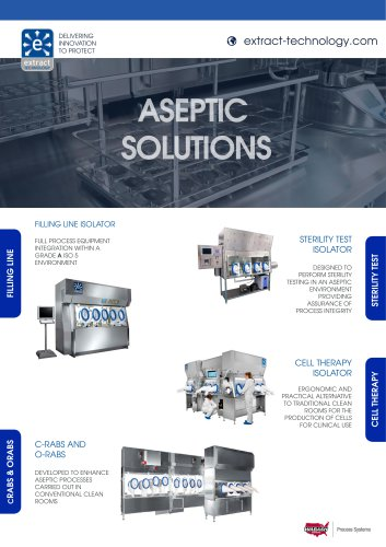 Aseptic Product Solutions Brochure